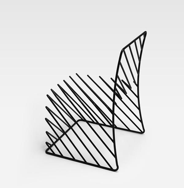 Thin blacklines  Favorite and devoutly-followed Japanese creative collective Nendo is about to stage its first solo UK exhibit during next week's London Design Festival, presented in two parts: at the Saatchi Gallery and by Phillips de Pury & Company's London Headquarters. True to form, Nendo's new series, called Thin Black Lines, turns everyday objects upside-down, with a line of 29 minimal furnishings made from steel and inspired by Japanese calligraphy.