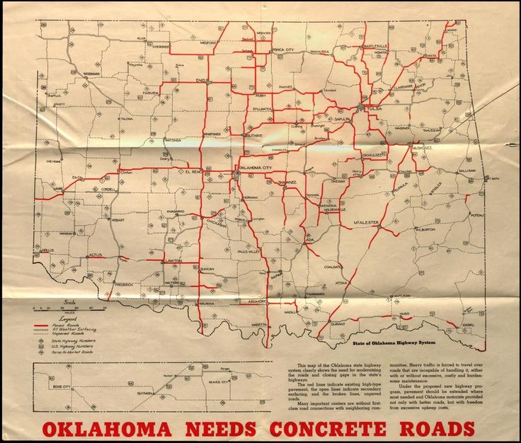 32 best Maps images on Pinterest Oklahoma Maps and Cards