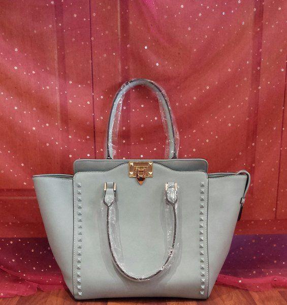 Susen Handbag Babyblue With Studs Along Sides