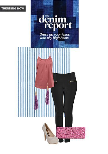 dress yer denims#tasslefun# I created on the LimeRoad Shopping App! You'll love the look. See it here https://www.limeroad.com/scrap/