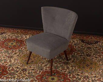 50s cocktail stoel, fauteuil jaren 60 vintage (601034)