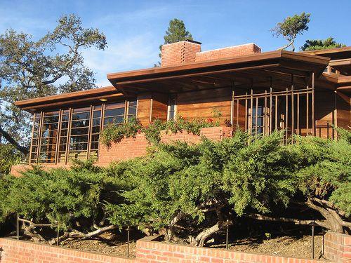 Untitled Stanford California Usonian And Frank Lloyd Wright