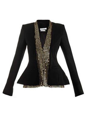 женский пиджак в деловом стиле