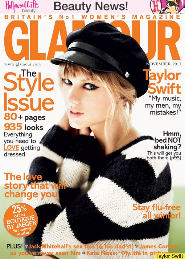 taylor swift magazine covers | courtesy of glamour magazine