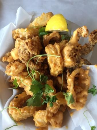 Hooked in Ocean City is making our mouths water with this calamari! #ocmd