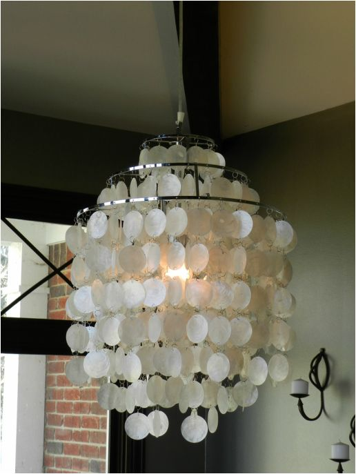 Shell Light Fixture $109