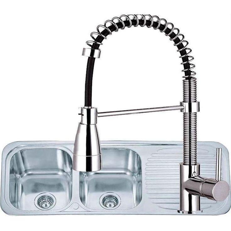 22 best Kitchen Sinks images on Pinterest | Bowls, Kitchen faucets ...