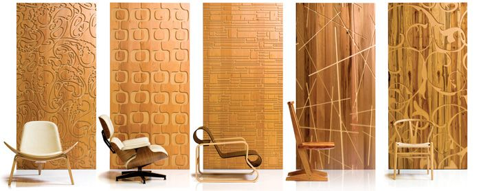 Faux Wood Paneling. Easy, And Texture-Rific. (And Maybe Expensive