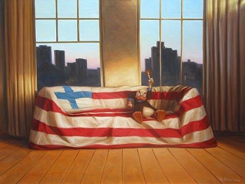PC American light - Kaj Stenvall postcards - ArtShop verkkokauppa