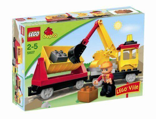 LEGO Track Repair Train - Duplo Set 5607