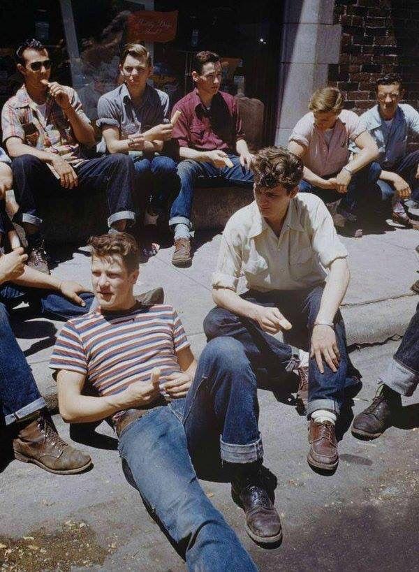 Teenage Boys in the 1950s