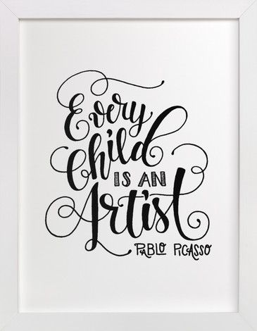 Child Artist by Pinch Me Moments at minted.com
