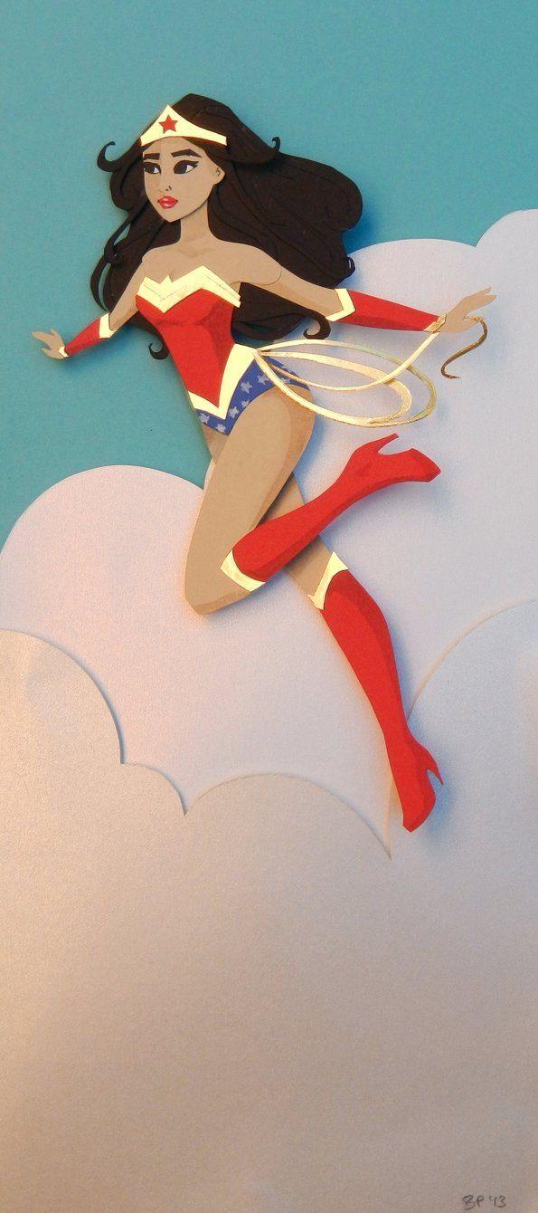 Wonder Woman by ~Pen-umbra on deviantART