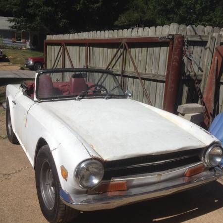 Triumph TR6 1969 $2,200 for Parts or Full Restoration ...