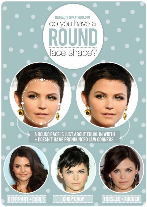 "HAIR TALK: ROUND FACE SHAPE   Let's talk about how to ""oval-ize"" a round face. xo"