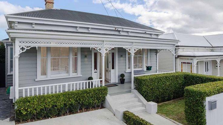 Auckland villa exterior colour palette inspiration.