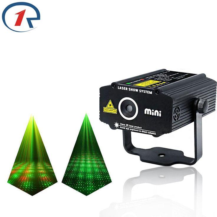 23.39$  Watch now - ZjRight Red Green Meteor Laser Light Mini Portable projection laser stage light gala party effect light bar ktv dj disco lights  #bestbuy
