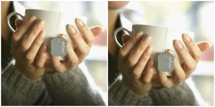 Come riparare un'unghia rotta con una bustina da thé