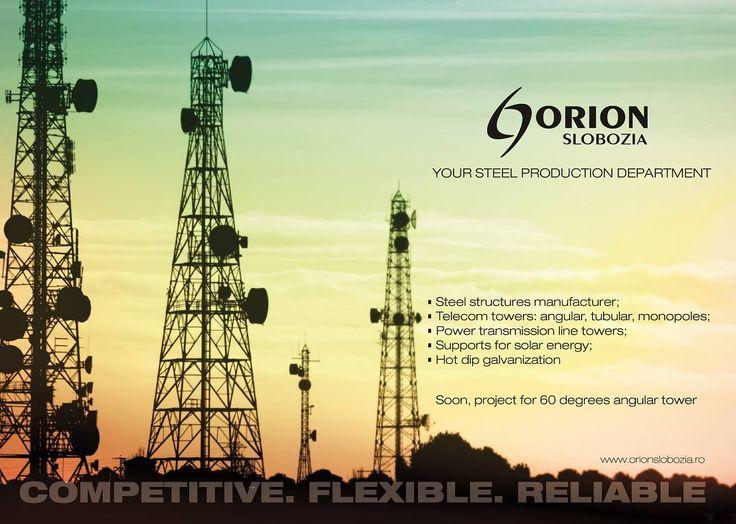 Orion Slobozia - Telecom Towers