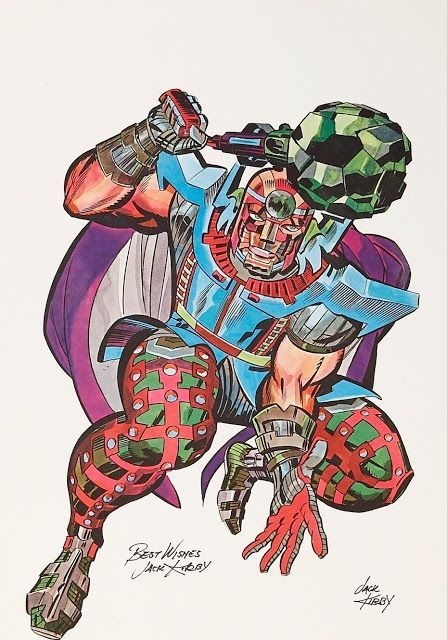 Rip Jagger's Dojo: Not Quite New Gods! Jack Kirby