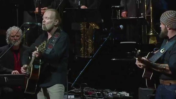 "What an amazing collaboration!  ""Midnight Rider"" with Vince Gill, Gregg Allman and Zac Brown"