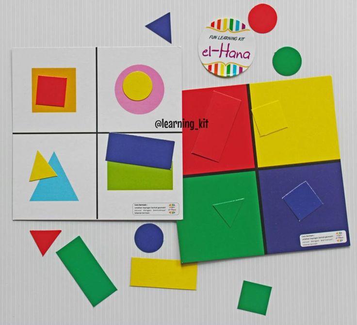 The color and shape sorting : grouping pieces of geometry based on color and shape