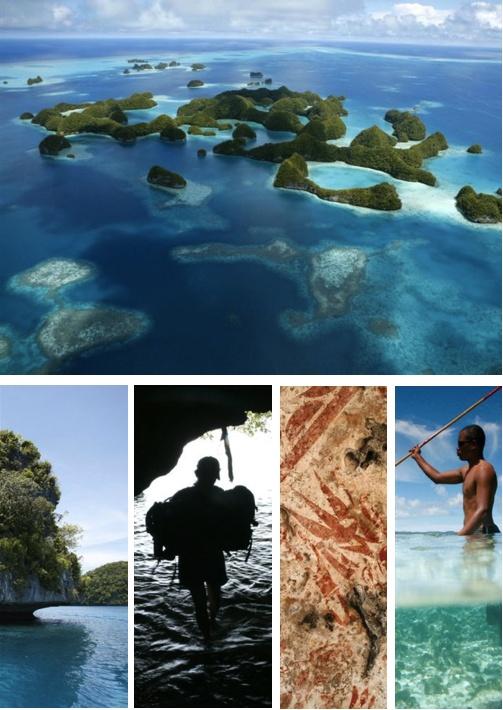 Palau: Us Marines, States Marines