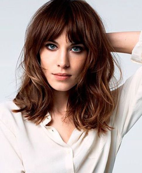 20 different long bob with bangs. Lob haircut and hairstyles. Best bob and lob…