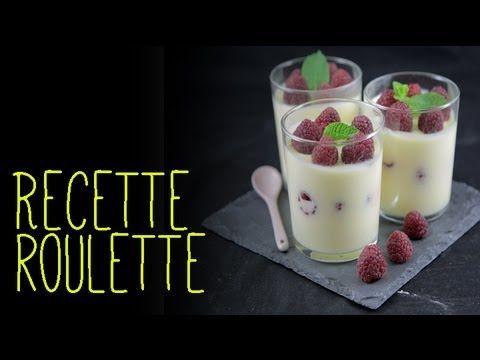 Mousse aux citrons et framboises - Recette de cuisine Marmiton : une recette
