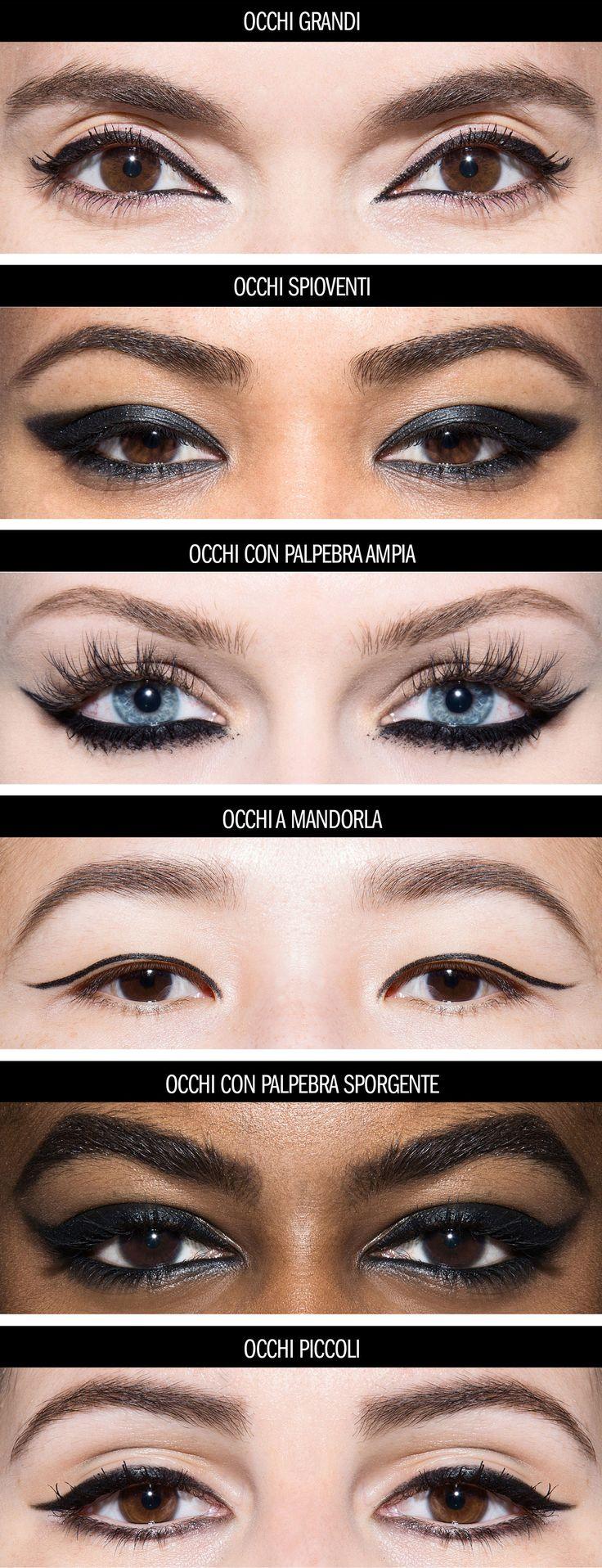 6 modi per mettere l'eyeliner alla perfezione in base alla forma dei tuoi occhi -cosmopolitan.it