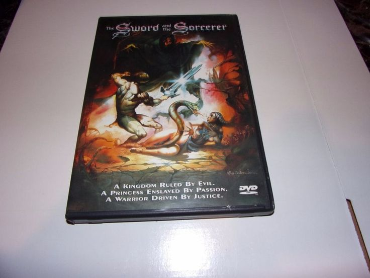 The Sword and the Sorcerer (DVD, 1982) Lee Horsley, Richard Moll  #AnchorBay
