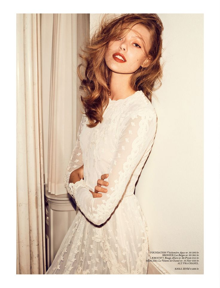 coco: frida gustavsson by hasse nielsen for cover april 2013 | visual optimism; fashion editorials, shows, campaigns & more!