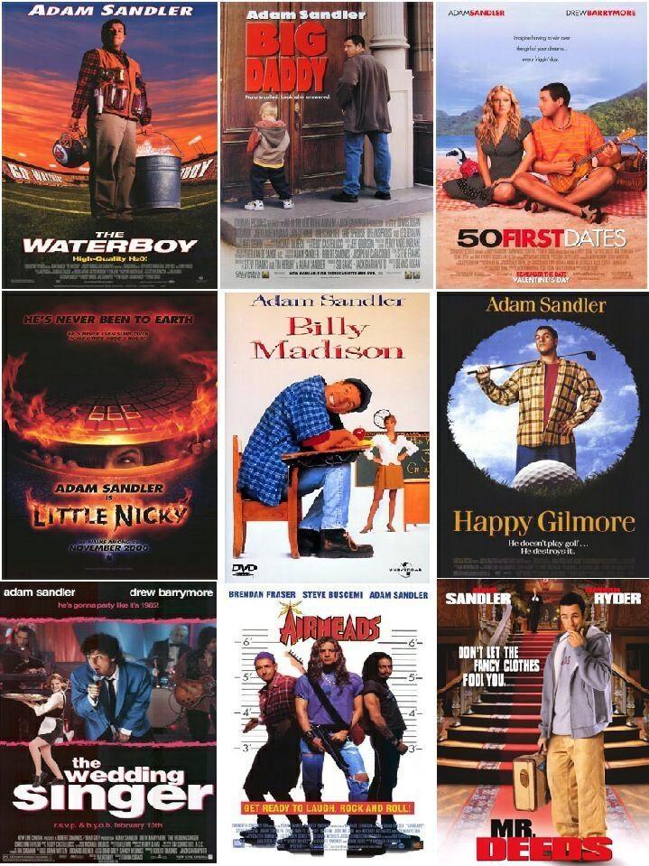 Adam Sandler Movies I like