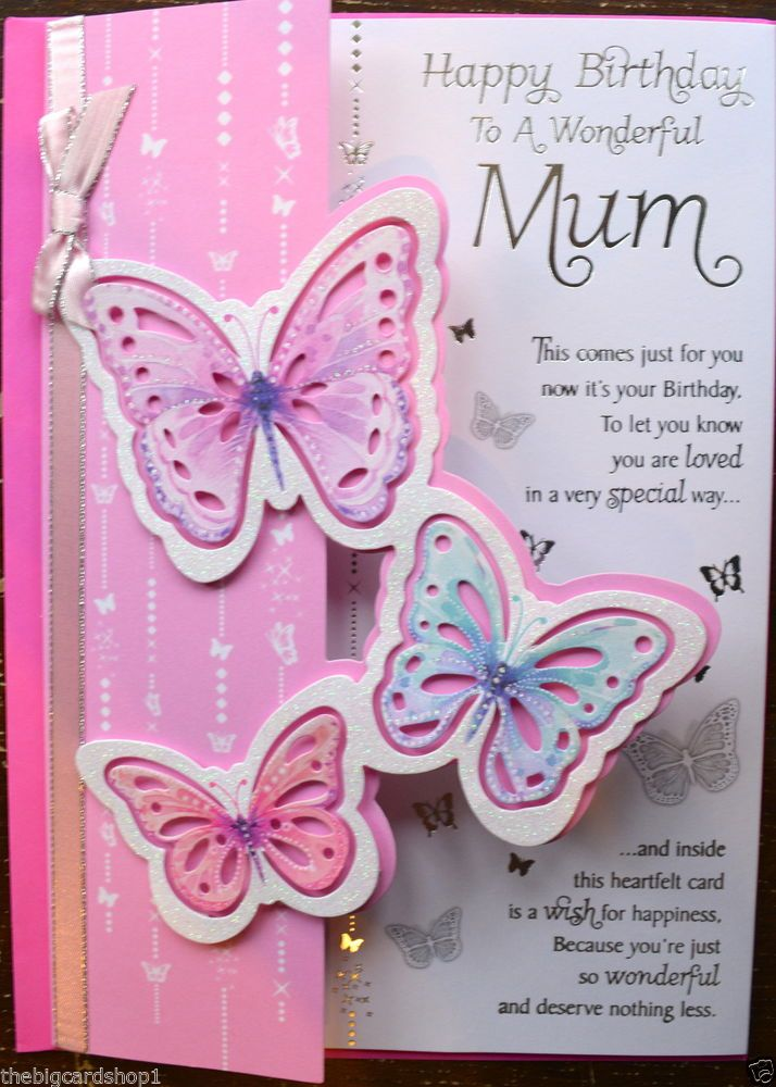 10 best Daughter Birthday cards images – Mum 65th Birthday Card