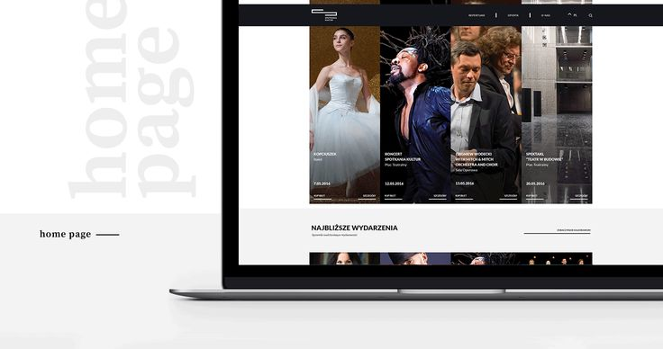 Spotkania Kultur - website on Behance