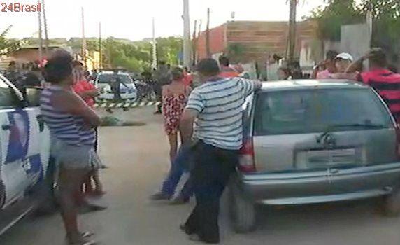 Homem é morto com oito tiros na cabeça ao fazer entrega de lajotas na Serra