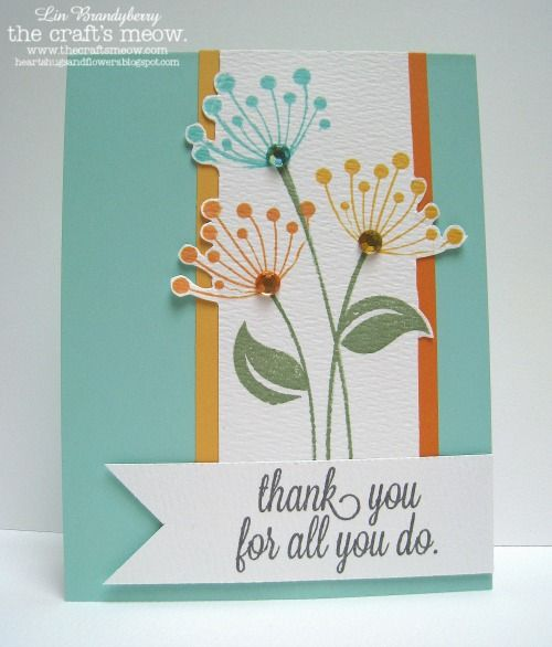 The Crafts Meow Store Blog: Floral Thanks