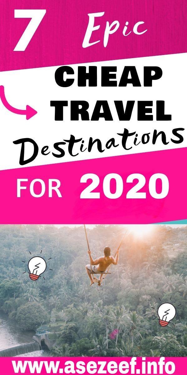 7 Cheap Travel Destinations 🛫🌏🛬