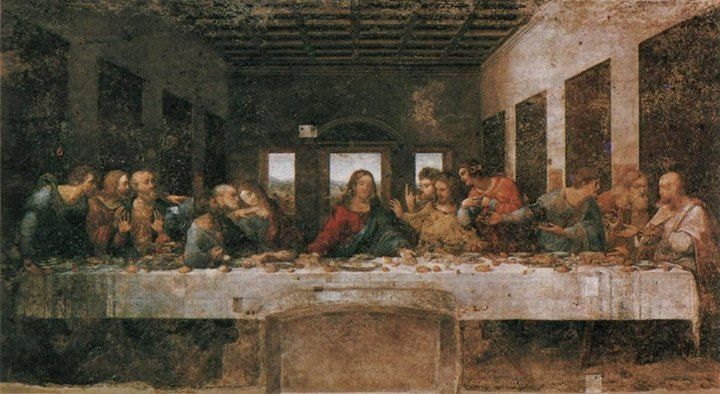 This Week in History – On May 28th, 1999, In Milan, Italy ... Da Vinci Last Supper Restored