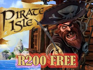 We are pleased to announce the launch of a new entertaining #RTG slot game, #PirateIsle .  To celebrate the launch, we have partnered with #SilverSandCasino and #JackpotCashCasino and are offering all new and existing players a bonus of R200 ( No Deposit Required) to try out this game.  This R200 free bonus can only be played on the new Pirates Isle game and has a 60X wagering requirement with a maximum cash out of twice the bonus amount (R400).  The coupon code for this promotion is PIRATE…