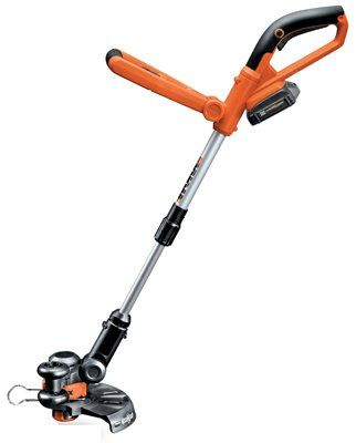 "Positec Usa WG155 Cordless Grass Trimmer/Edger, 20-Volt Lithium-Ion, 10-In. >  10"", 20V, Worx Li-Ion Cordless Grass Trimmer/Edger, Lithium-Ion Battery Technology, Long Life, No Self Discharge, Light Weight, No Memory Effect, Hour Cell Produces 15% More Run Time Than 18..."