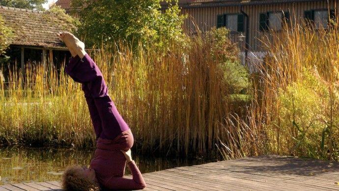 Yoga Wochenende im Schlossgut Oberambach in Münsing #hormonyoga #oberambach