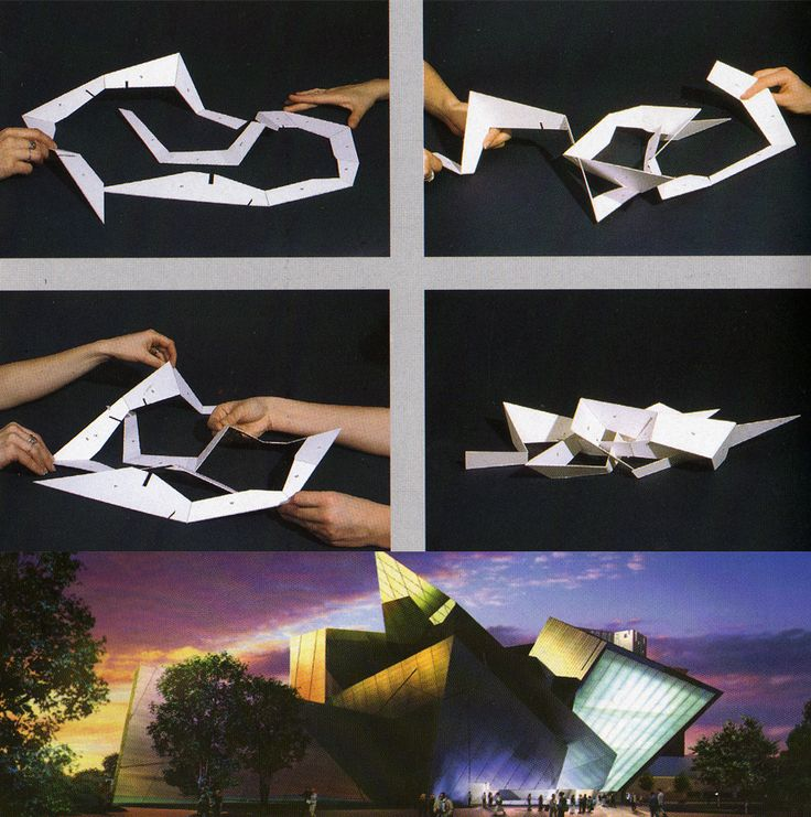 Mejores 77 im genes de estructuras maquetas en pinterest for Denver art museum concept