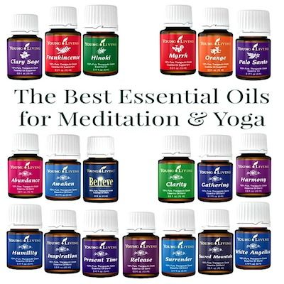 The Best Essential Oils for Meditation and Yoga   Best ...