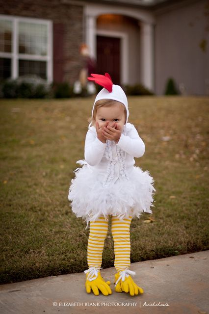 chicken Halloween Costumes and dress up by Elizabeth dunreth