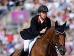 Drama as GB take Team Jumping gold - London 2012 Olympics