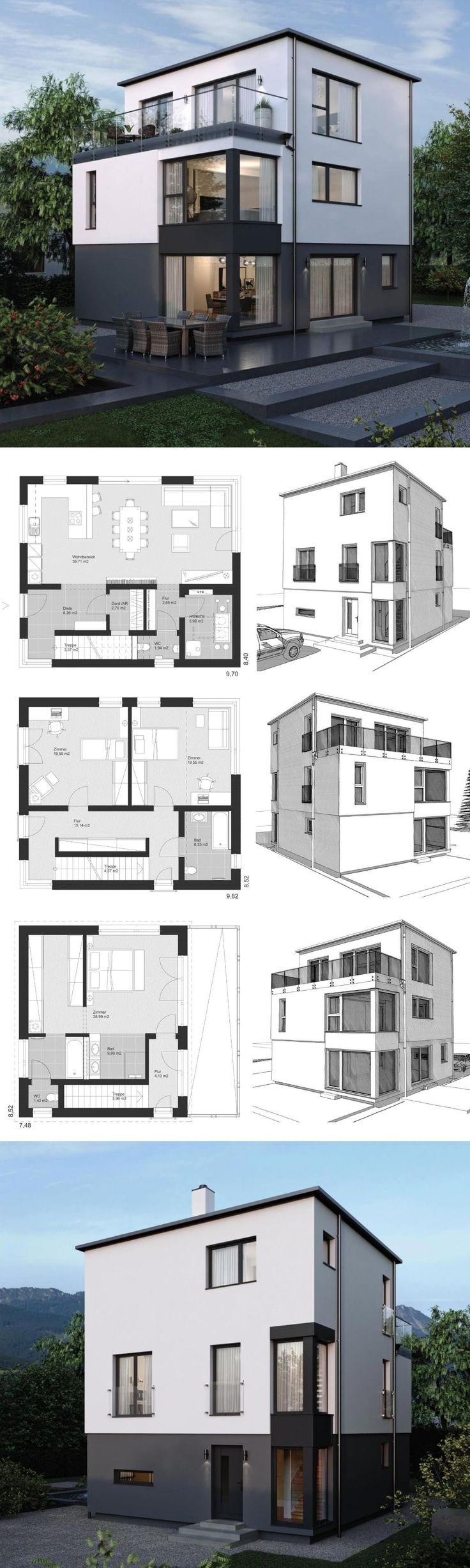 Modern Architecture Design House Plans ELK Haus 17…