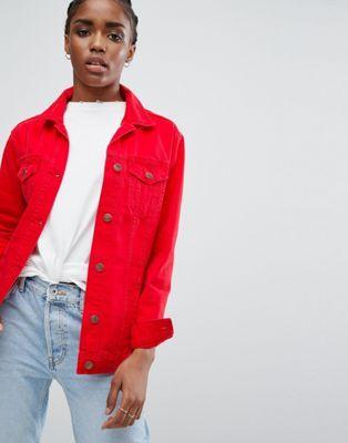 New Look Longline COLORED Denim Jacket