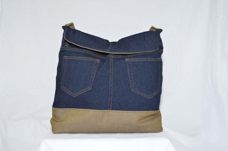 Dark Blue Jean Purse (52.00 USD) by Clutchnpearls