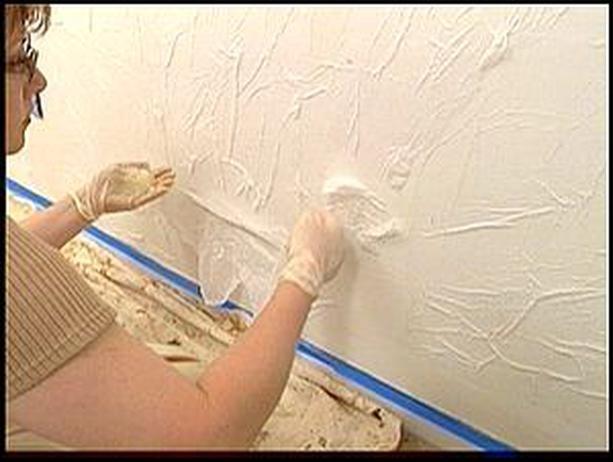 Как сделать самому штукатурку для стен